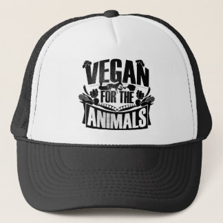 Boné Vegan para os animais