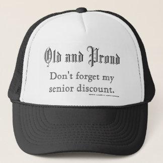 Boné Velho e orgulhoso, não esqueça meu disconto