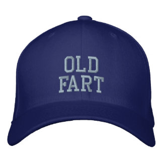 Boné Velho Fart o chapéu de basebol