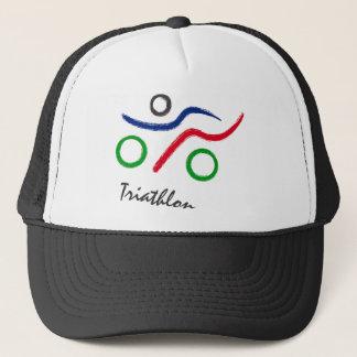 Boné Vendedor do logotipo original do Triathlon o