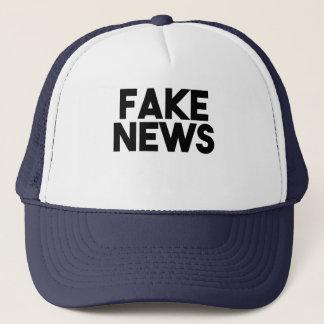 Boné Verdade elegante do cargo da notícia falsificada