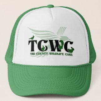 Boné Verde do chapéu | do logotipo de TCWC