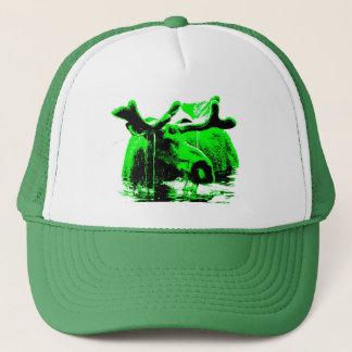 Boné verde dos alces