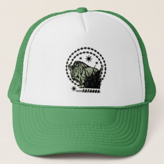 Boné Verde Sun-Americano do búfalo/bisonte de Tatanka