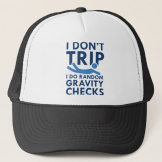 Boné Verificações da gravidade