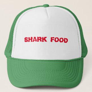 Boné Vermelho da comida do tubarão