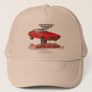Boné Vermelho do carrossel do juiz de 69 GTO