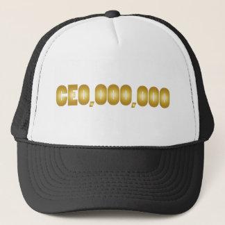 Boné Vestuário do divertimento do CEO