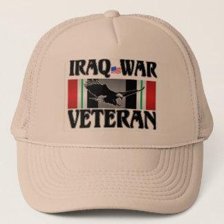 BONÉ VETERANO DA GUERRA NO IRAQUE
