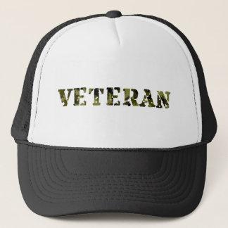 Boné Veterano militar