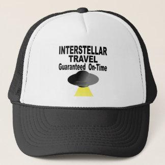 Boné Viagem interestelar garantido no tempo