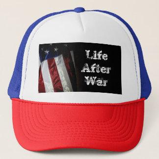 Boné Vida da bandeira do chapéu após a guerra