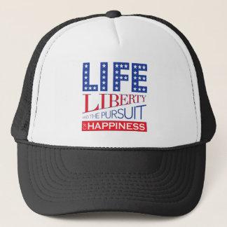 Boné Vida, liberdade e a perseguição da felicidade