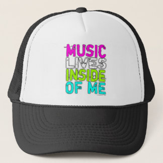 Boné VIDAS da MÚSICA PARA DENTRO de MIM chapéu do