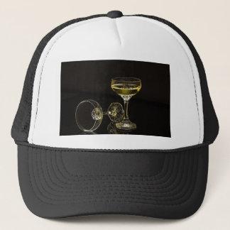 Boné vidros do champanhe
