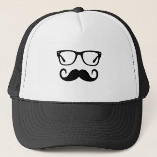 Boné Vidros do hipster & bigode do guiador