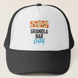 Boné Vinte-primeiro janeiro - dia do bar de Granola
