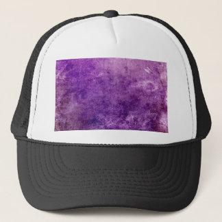 Boné Violeta abstrata