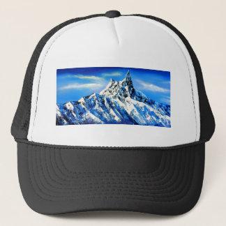 Boné Vista panorâmica do pico de montanha de Everest