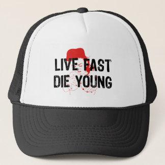 Boné Viva rapidamente, morra jovens