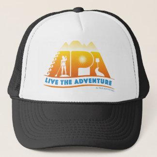 Boné Vive o chapéu do costume da aventura