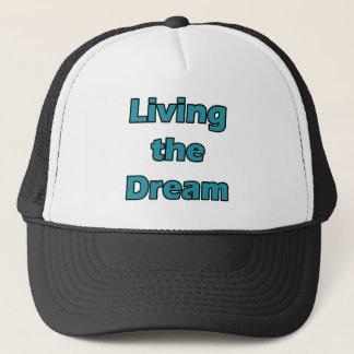 Boné Vivendo o sonho
