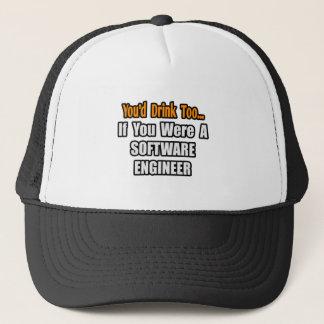 Boné Você beberia demasiado… a Software Engineer