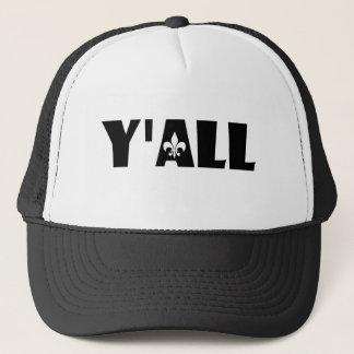Boné Você chapéu de Cajun Louisiana da flor de lis