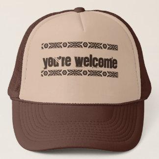 Boné Você é bem-vindo