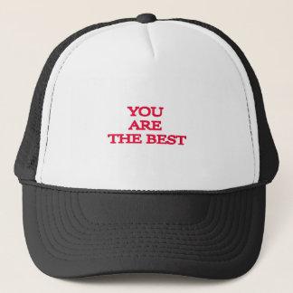 Boné Você é o melhor