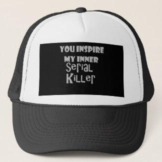 Boné Você inspira meu assassino em série interno