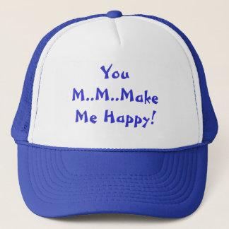 Boné Você M.M.Make mim chapéu feliz