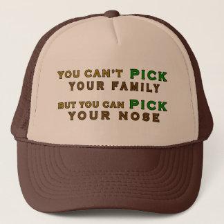 Boné Você pode escolher seu camionista engraçado do