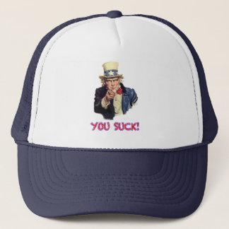 Boné Você suga o chapéu