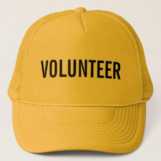 Boné Voluntário amarelo