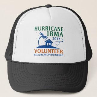 Boné Voluntário de Irma do furacão