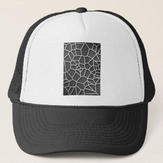Boné Voronoi geométrico abstrato baixo p do conceito da