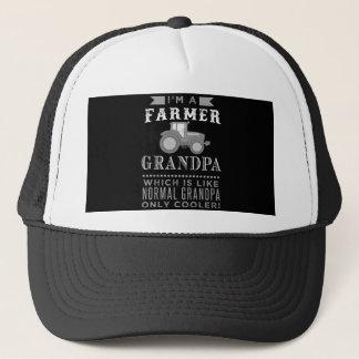 Boné Vovô do fazendeiro, chapéu legal do camionista do