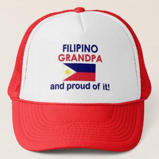 Boné Vovô filipino orgulhoso