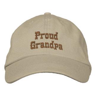 Boné Vovô orgulhoso chapéu bordado