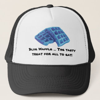 Boné Waffle azul - deleite saboroso