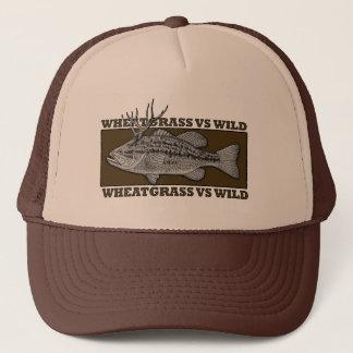 Boné Wheatgrass CONTRA o chapéu selvagem do camionista