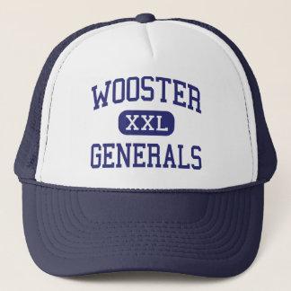 Boné Wooster - generais - segundo grau - Wooster Ohio