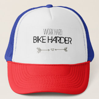 Boné work hard. BIKE HARDER