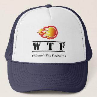 Boné WTF - Onde está a bola de fogo?