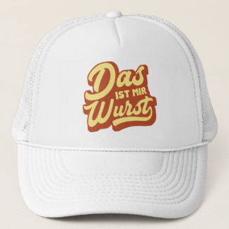 Boné Wurst das ISTs RIM do DAS, chapéu alemão do