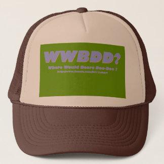 Boné WWBDD? Onde doo-doo dos ursos?