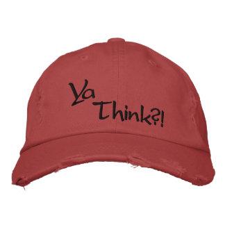 Boné Ya pensa?! Chapéu de basebol