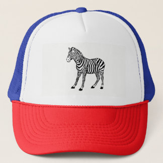 Boné zebra