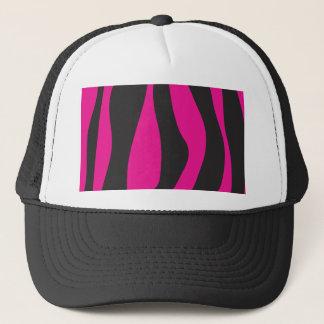 Boné Zebra cor-de-rosa